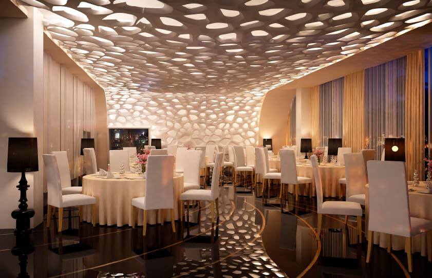 Iluminação de restaurante: planejamento garante bem-estar de clientes